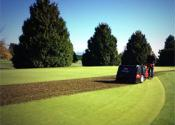 Aeration at Mayfair Lakes