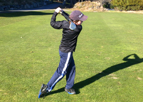 Junior Golfer at Olympic View