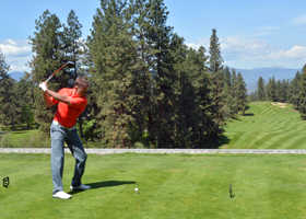 Gallaghers Canyon First Tee