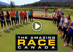 Amazing Race Canada finishes at Nicklaus North