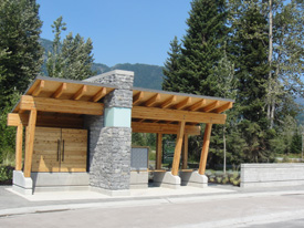 Postal Kiosk at Cypress Place Whistler